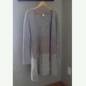 Sundance Catalog Long Open Cardigan Sweater Wool